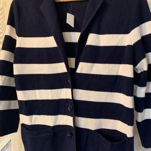 🐓 Cardigan striped Talbots